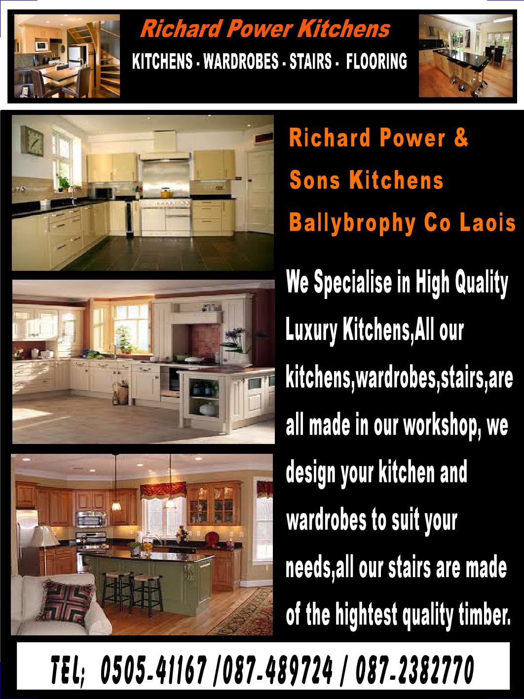 richard power kitchens portlaoise laois